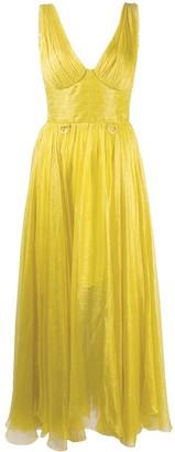 Maria Lucia Hohan Sorena mousseline midi dress