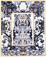 Roberto Cavalli Azulejos Rectangular Tray