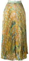 Roberto Cavalli 'Runway Pleated' skirt - women - Silk/Polyester - 40