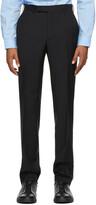 Thumbnail for your product : Ermenegildo Zegna Black Wool Dress Trousers