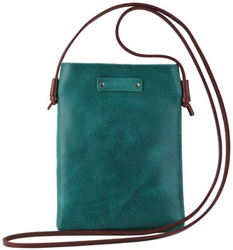 Most Wanted Design by Carlos Souza Ludvia Cell Phone & Card Pouch Leather Crossbody Bag