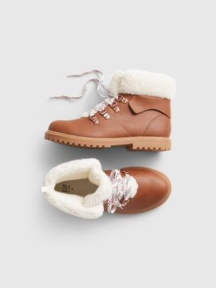 Gap Kids Sherpa Worker Boots