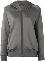 Jo No Fui zipped hoodie - women - Cotton/Viscose - XS