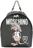 Moschino Rat-A-Porter backpack - women - Nylon/Polyurethane - One Size