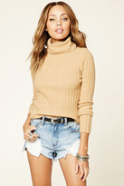 Forever 21 FOREVER 21+ Turtleneck Sweater Top