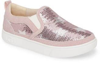 UGG Caplan Sequin Stars Slip-On Sneaker