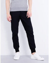 Ps By Paul Smith Mid-rise Slim-fit Cotton-blend Jogging Bottoms