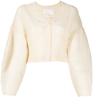 REMAIN Button-Up Blouse
