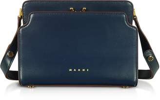 Marni Trunk Reverse Nappa Calf Leather Crossbody Bag