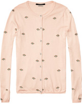 Scotch & Soda All-Over Artwork Cardigan