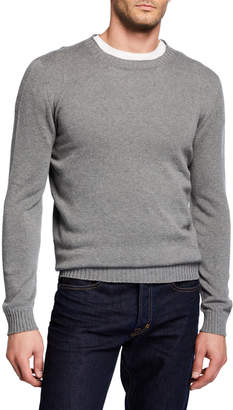 Neiman Marcus Il Borgo for Men's Round Neck Knitted Sweater
