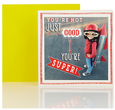 Marks And Spencer Marks And Spencer Think Happy Super Boy Blank Card