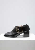 Jil Sander Black Corsaro Buckle Boot