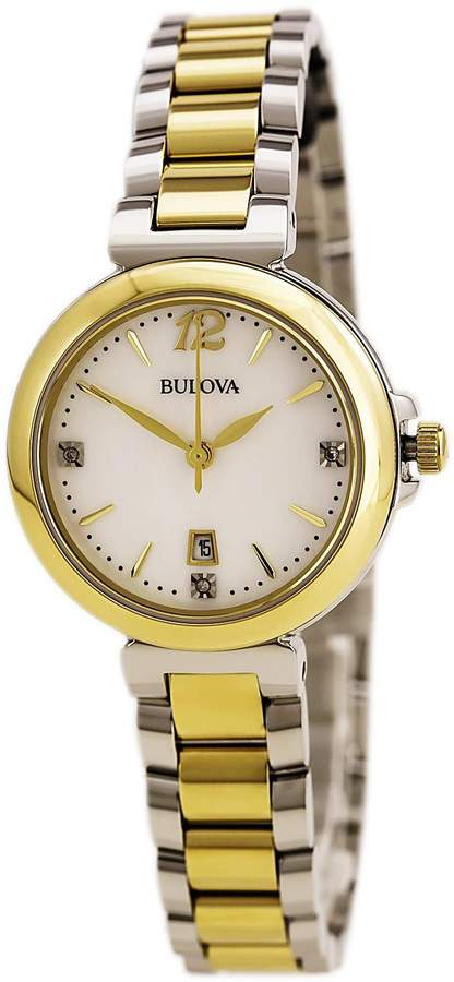 Bulova Women's 98P142XG Quartz Bracelet Watch (Certified Refurbished)