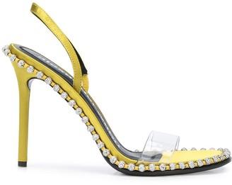 Alexander Wang Nova crystal-embellished sandals