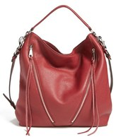 Rebecca Minkoff 'Moto' Hobo Bag - Burgundy