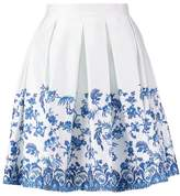 Closet Pleated skirt blue china