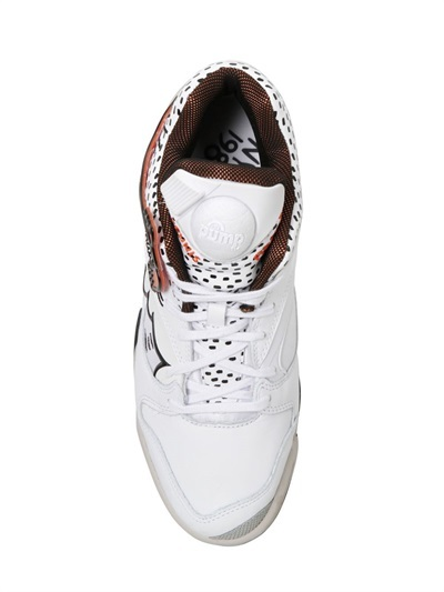 Reebok Leather Court Victory Pump Sneakers