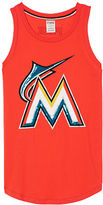 PINK Miami Marlins Bling Rib Neck Tank