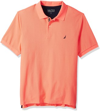 Nautica Men's Big Classic Short Sleeve Solid Polo Shirt