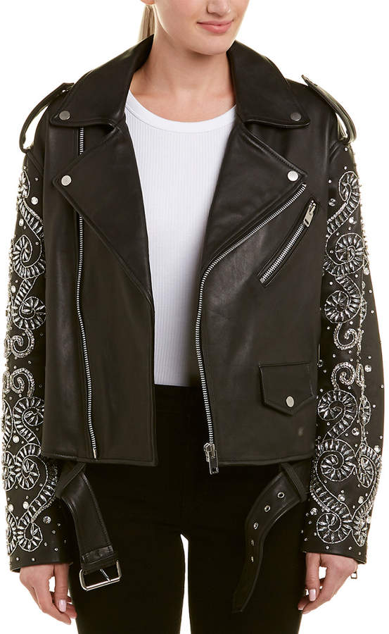 quality and quantity assured special selection of multiple colors Baker Chi Leather Jacket