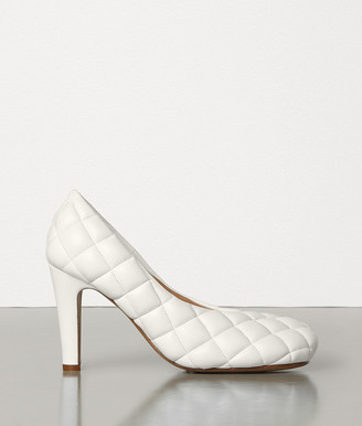 Bottega Veneta Padded Bloc Pumps In Matelasse Nappa Dream