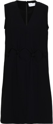 Victoria Victoria Beckham Knotted Crepe Mini Dress