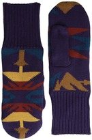 Pendleton Fleece Lined Mittens Wool Gloves