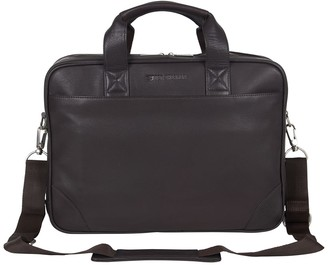 Ben Sherman Premium Karino Leather Double Compartment Laptop Case