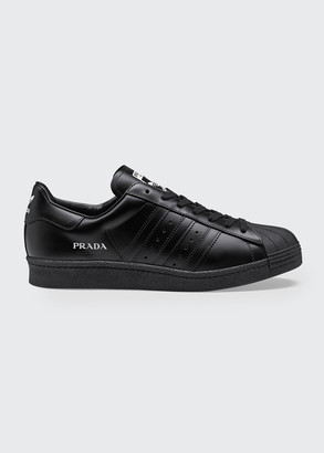 Adidas X Prada x Prada Superstar Low-Top Classic Sneakers