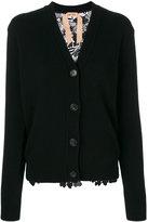 No.21 V-neck cardigan - women - Polyester/Wool - 42