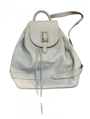Meli-Melo Green Leather Backpacks