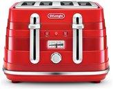 De'Longhi CTA4003R Avvolta Toaster - Red