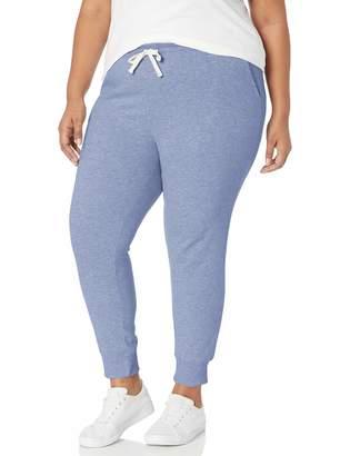 Amazon Essentials Women's Plus Size French Terry Fleece Jogger Sweatpant