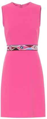 Emilio Pucci Wool and silk sheath dress