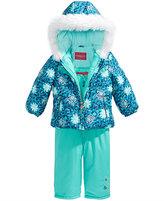 London Fog 2-Pc. Snowsuit with Faux-Fur Trim, Little Girls (4-6X)