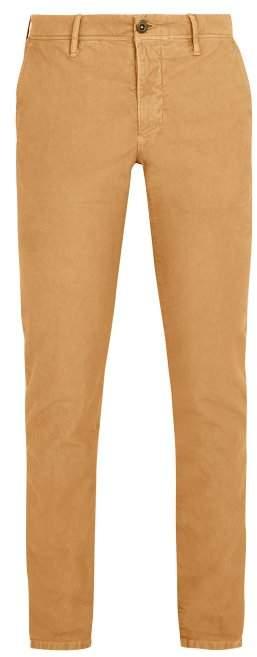 Incotex Slim Leg Chino Trousers - Mens - Camel
