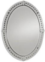 One Kings Lane Oval Mirror, Clear