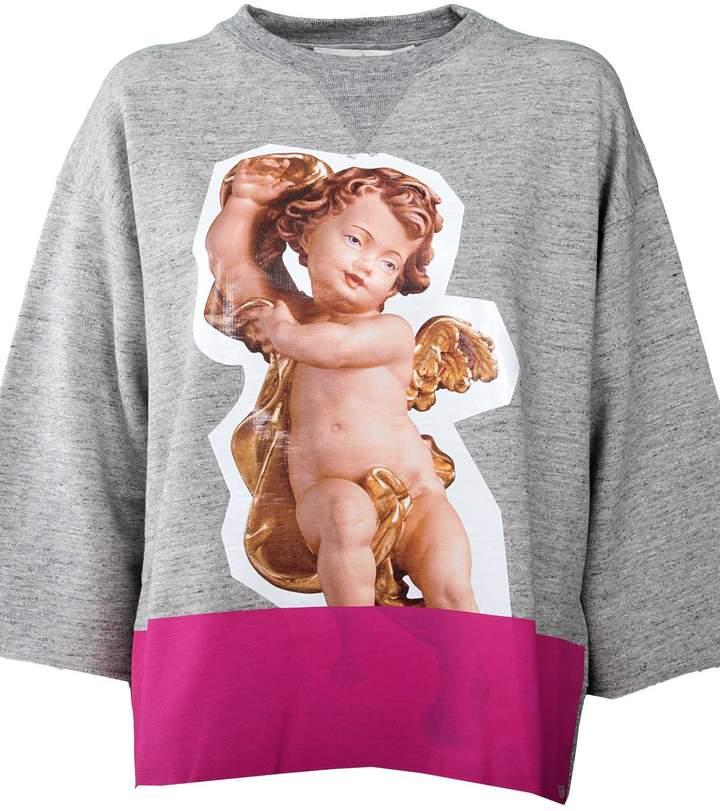 Golden Goose Angel Print Sweatshirt