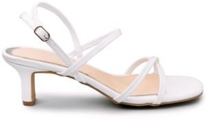 Sugar Women's Nacole Strappy Kitten Heel Sandals Women's Shoes