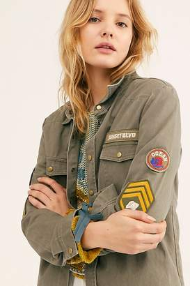 Free People Spell And The Gypsy Collective Mermaid Twill Jacket by Spell and the Gypsy Collective at