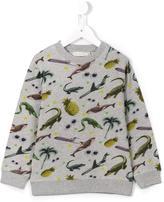 Stella McCartney all-over print sweatshirt - kids - Cotton - 6 yrs