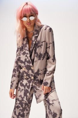 Jaded London Womens **Oversized Pinstripe Blazer By Multi