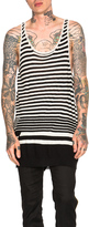 Haider Ackermann All Over Stripe Tank Top