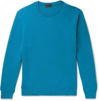 Altea Virgin Wool And Cashmere-Blend Sweater