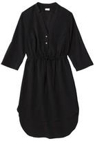 Merona Women's Drawstring Shirt Dress - Assorted Prints