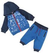 Little Marc Jacobs Printed Jogging Jacket w/ Sweatpants, Size 2-3