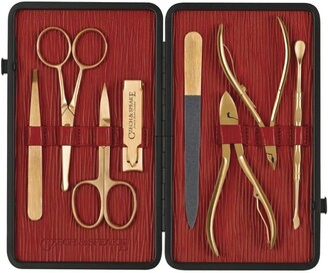 Czech & Speake Gold-Plated Manicure Set
