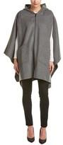 Dawn Levy Skylar Wool-blend Cape.
