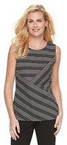 Dana Buchman Women's Stripes & Dots Tank